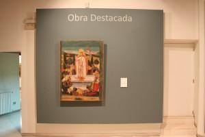 Obra destacada. El resucitado. Pedro García de Benabarre. @Foto Museo de Huesca.